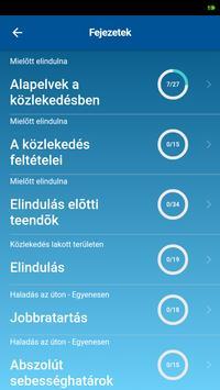 KRESZ teszt screenshot 2