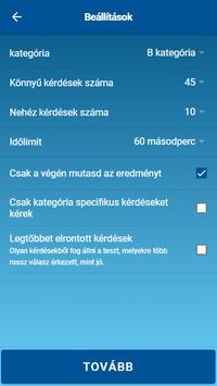 KRESZ teszt screenshot 1