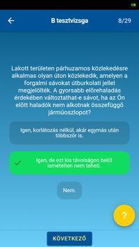 KRESZ teszt screenshot 3