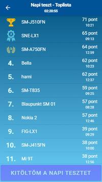 KRESZ teszt screenshot 5