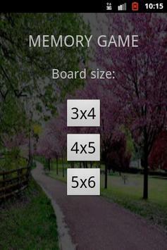 Memory Game screenshot 4