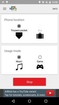 IIIBeats Control - Gesture control 4 Music & Games (Unreleased) screenshot 1