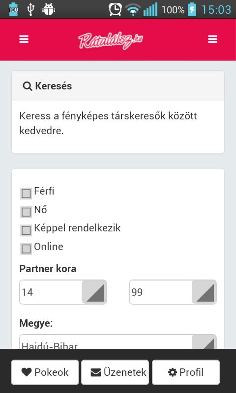 társkereső app)