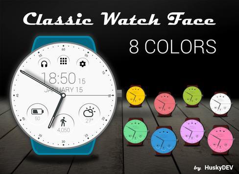 Classic Watch Face Ekran Görüntüsü 3