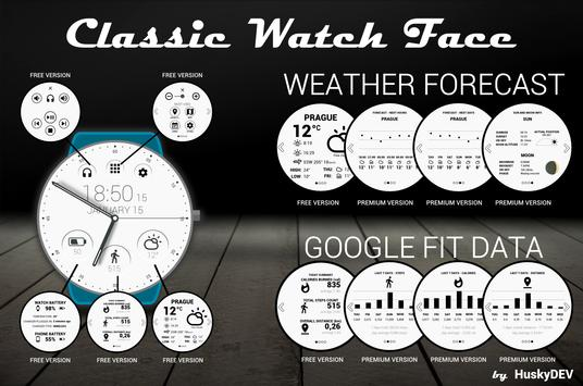 Classic Watch Face poster