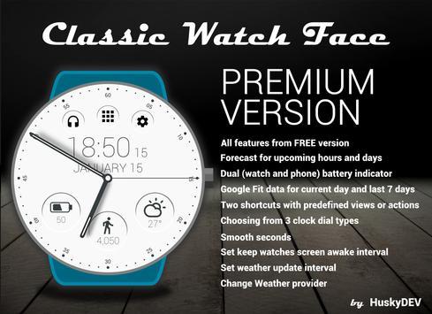 Classic Watch Face Ekran Görüntüsü 2