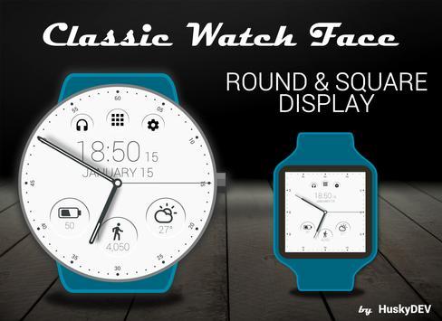 Classic Watch Face Ekran Görüntüsü 7