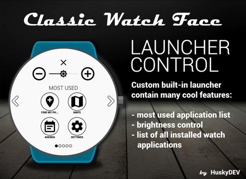 Classic Watch Face screenshot 4