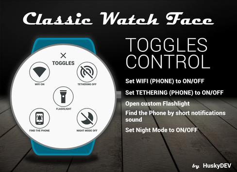 Classic Watch Face Ekran Görüntüsü 6