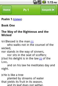 DJ Bible Reading Screenshot 1
