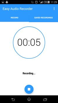 Easy Audio Recorder screenshot 1