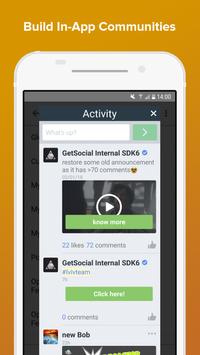 GetSocial Demo screenshot 1