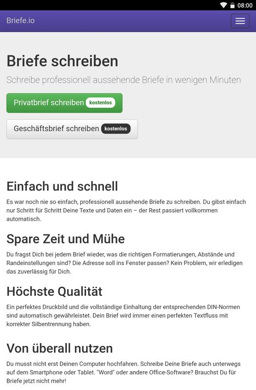 Briefe For Android Apk Download