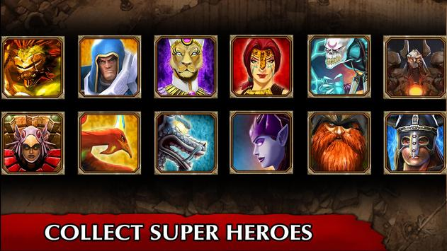Legendary Heroes MOBA Offline screenshot 1
