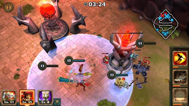 Legendary Heroes MOBA capture d'écran 3
