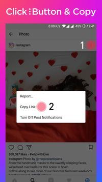 Download & Repost for Instagram - Image Downloader الملصق