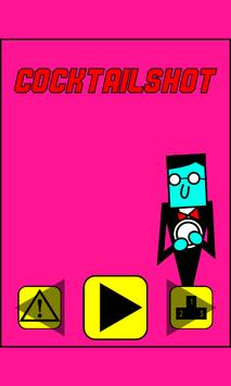 CocktailShot Zombie Shooting game poster