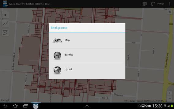 IMQS Asset Verification screenshot 2