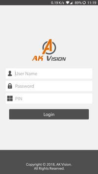AK Vision poster