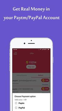 Watch & Earn - Free Rupee screenshot 2