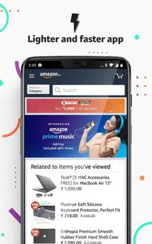 Amazon India Online Shopping Cartaz