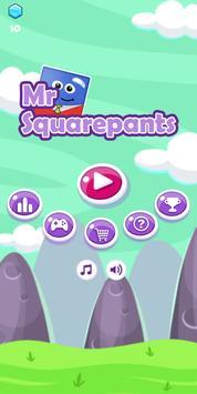 Mr Squarepants poster