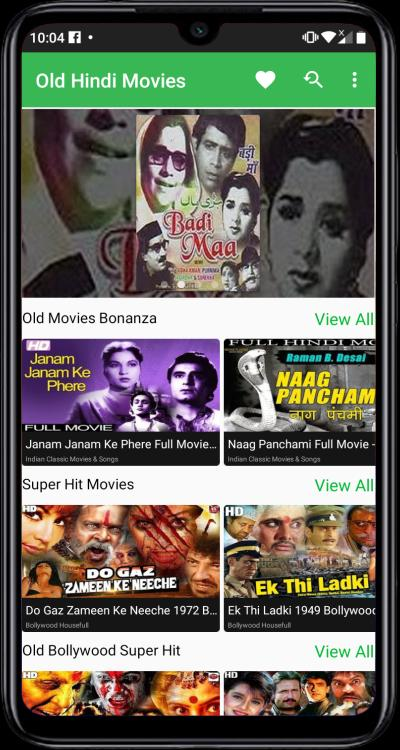 Free Hindi Movies - New & Old Bollywood Movies for Android