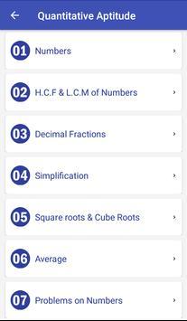 Bank Clerk Exam screenshot 1