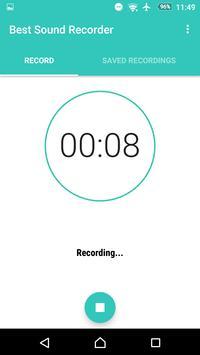 Best Sound Recorder screenshot 3