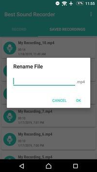 Best Sound Recorder screenshot 5