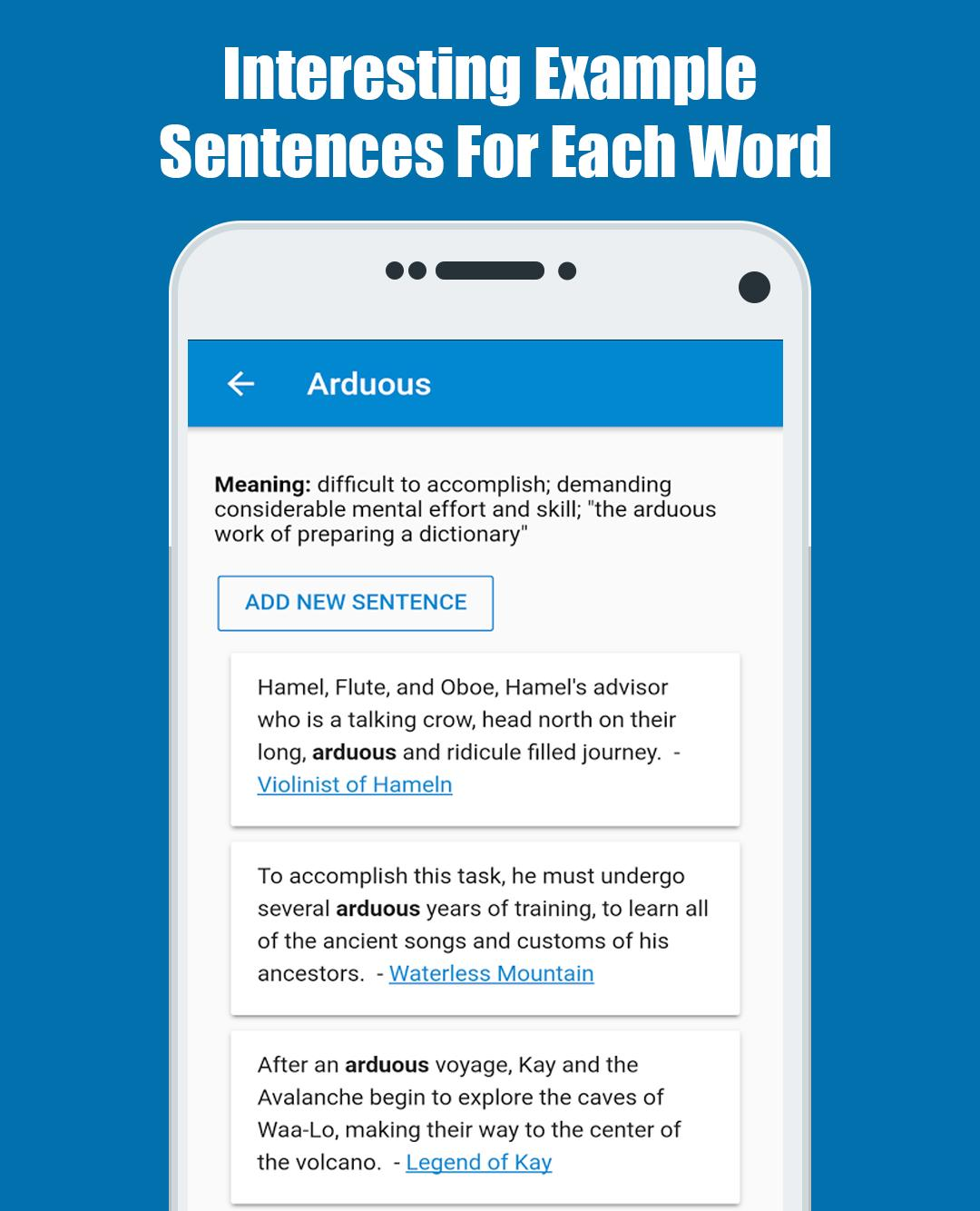 Word in Sentences: Learn English for Android - APK Download