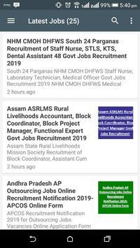 Govt jobs Alerts-Sarkari Naukri-Govt Jobs 2020 screenshot 2