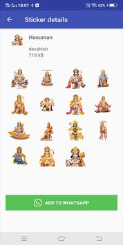 God and modi WASticker Apps for Whatsapp screenshot 3