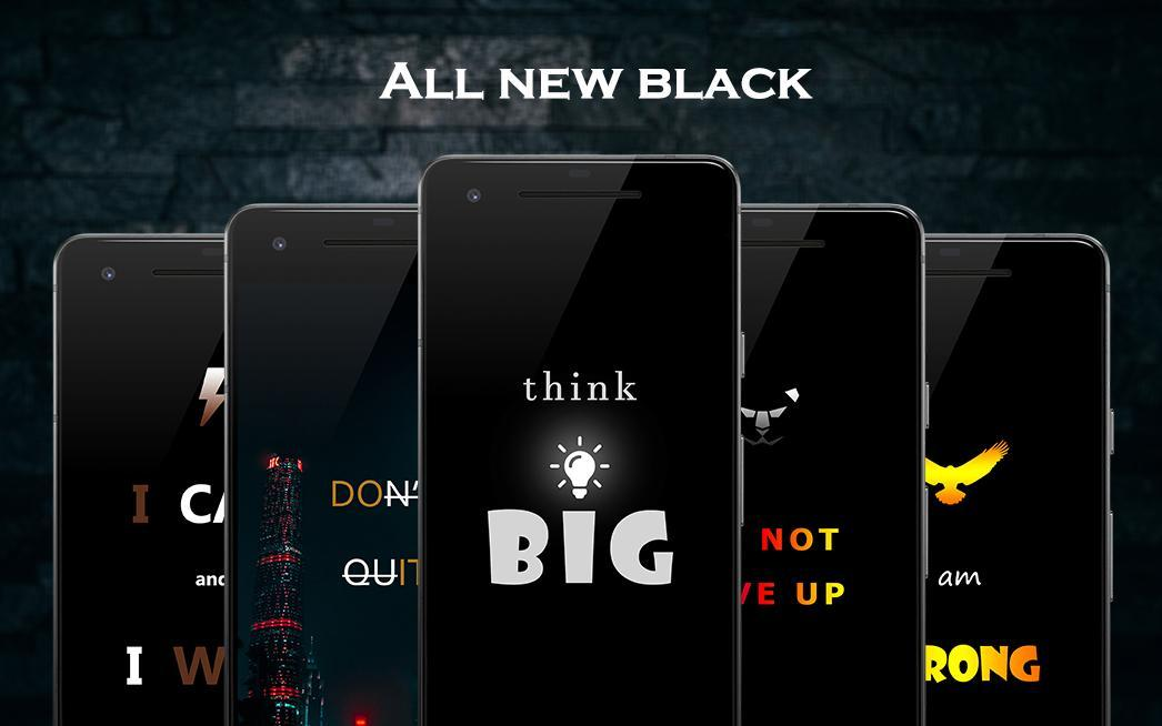 Black Motivation Wallpapers For Android Apk Download