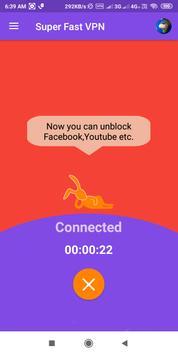 Super Fast VPN- Free Proxy Server & Secure Service screenshot 3