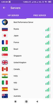 Super Fast VPN- Free Proxy Server & Secure Service screenshot 4