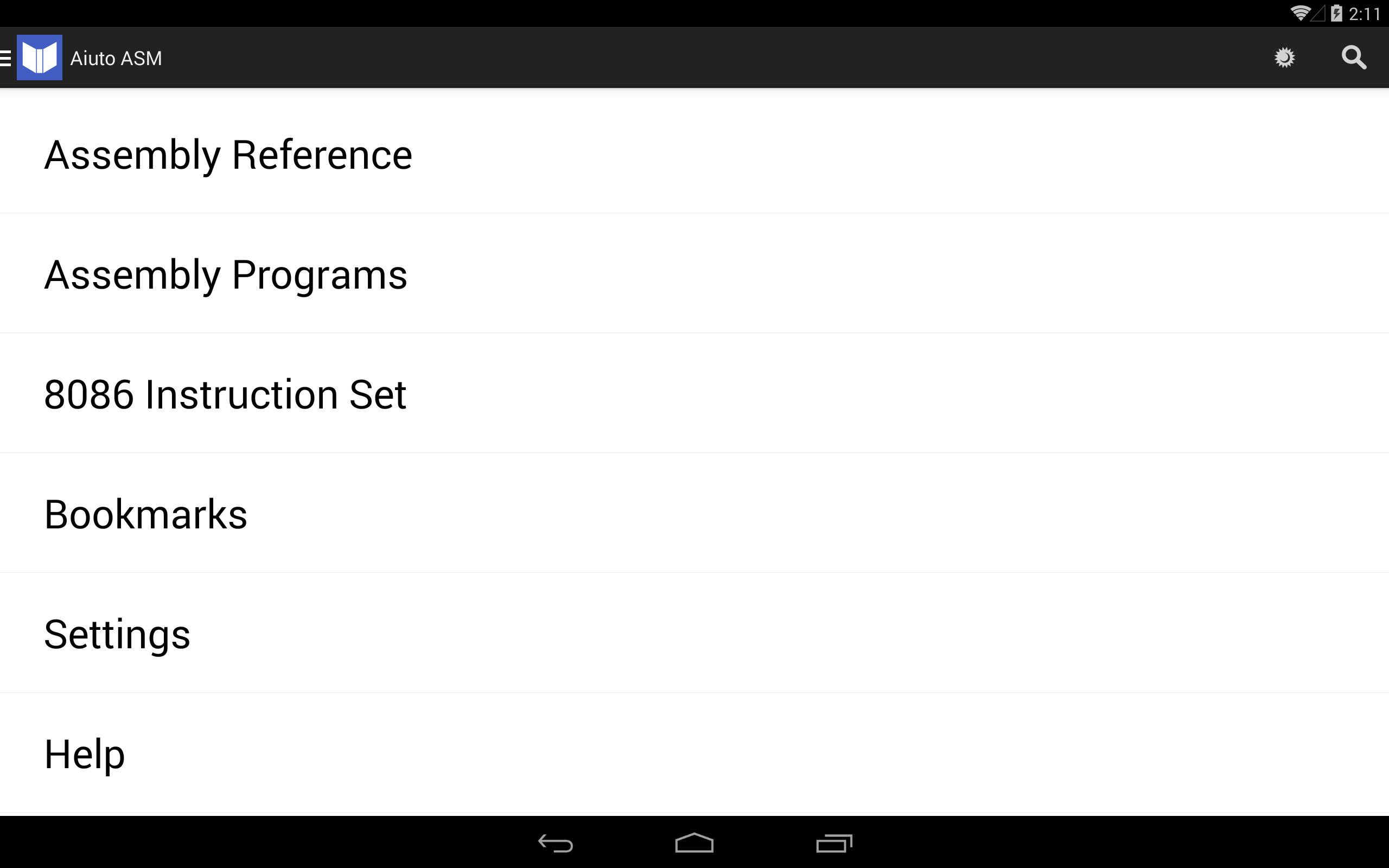 Assembly Reference & Programs for Android - APK Download