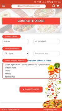 Food Cravers : Food Delivery App screenshot 10