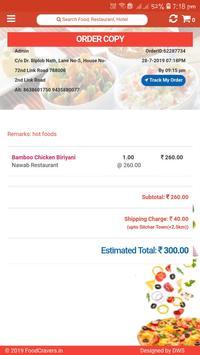 Food Cravers : Food Delivery App screenshot 13