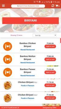 Food Cravers : Food Delivery App screenshot 3