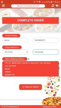 Food Cravers : Food Delivery App screenshot 6