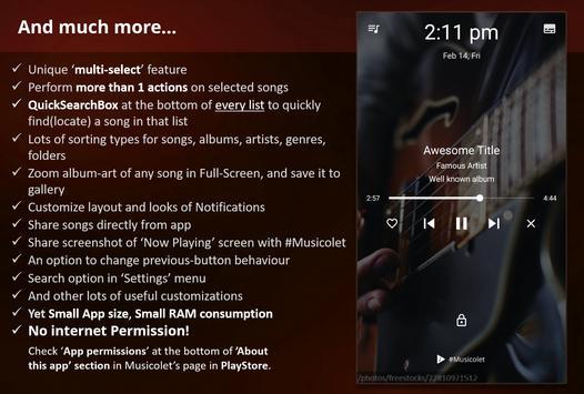 Musicolet ảnh chụp màn hình 7