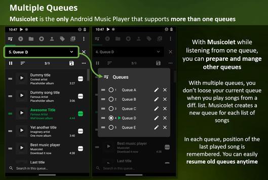 Musicolet ảnh chụp màn hình 1