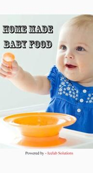 Homemade Baby Food poster