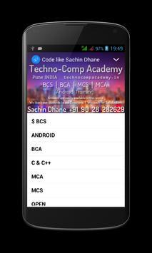 Code like Sachin Dhane UniPune screenshot 11