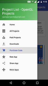 Project List - OpenGL Projects for Android - APK Download