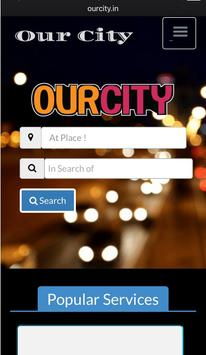 OurCity - Search Cafe , Hotel , Shop , Best Offer poster