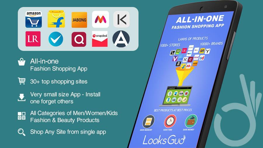 All in One Online Fashion Shopping-LooksGud for Android
