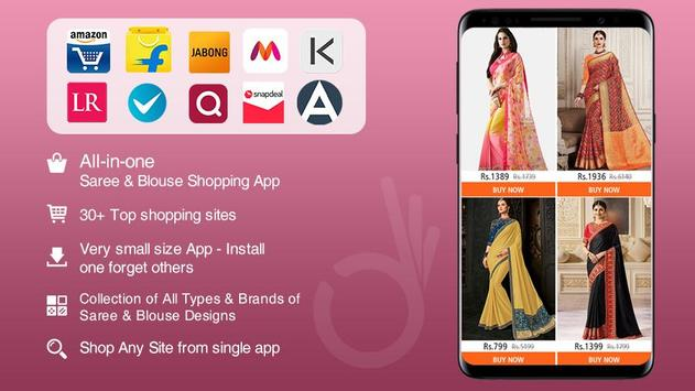 Saree & Blouse Designs - Online Shopping screenshot 5
