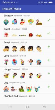 Diwali Wa Sticker Apps 2018 poster